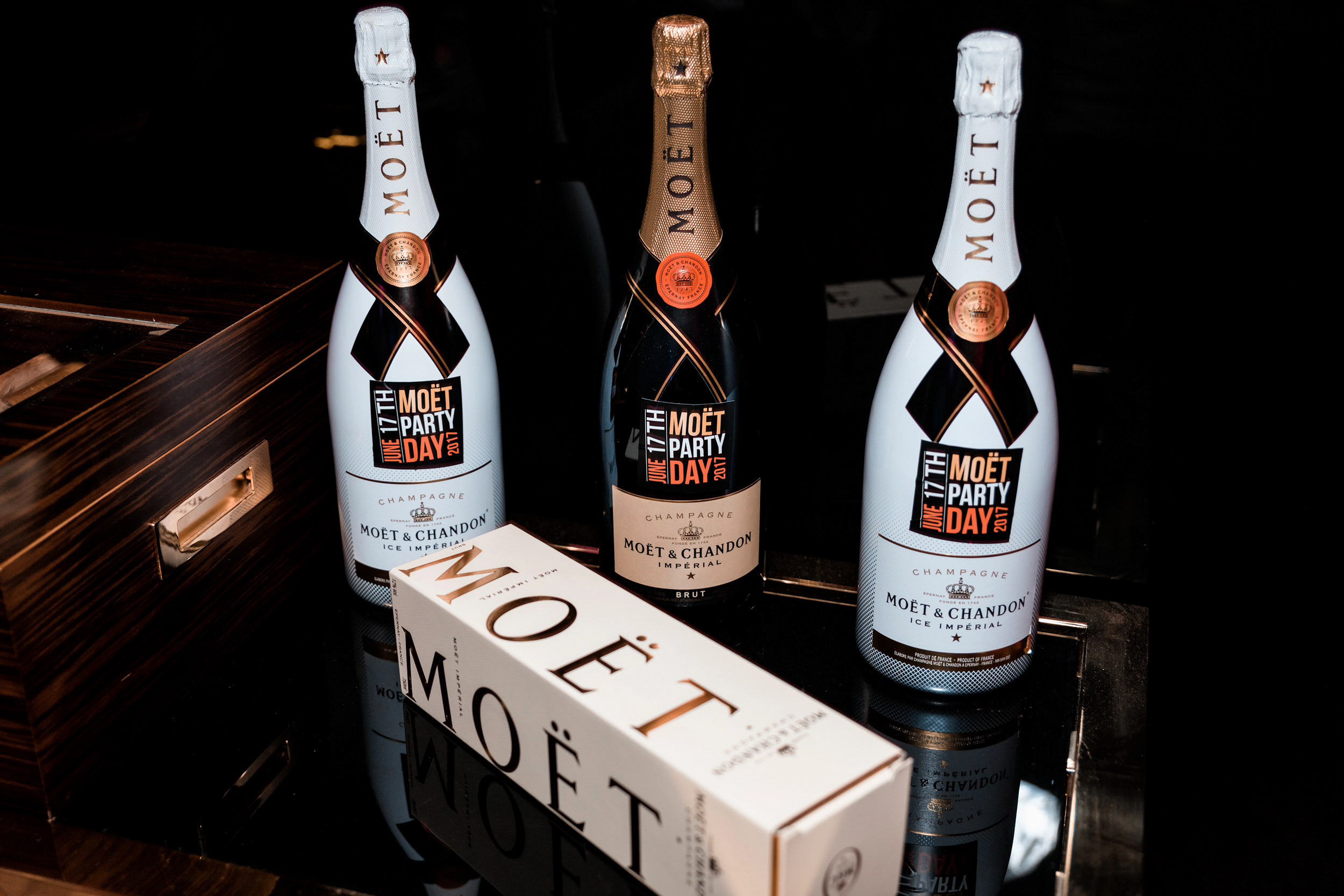 moet party day 15