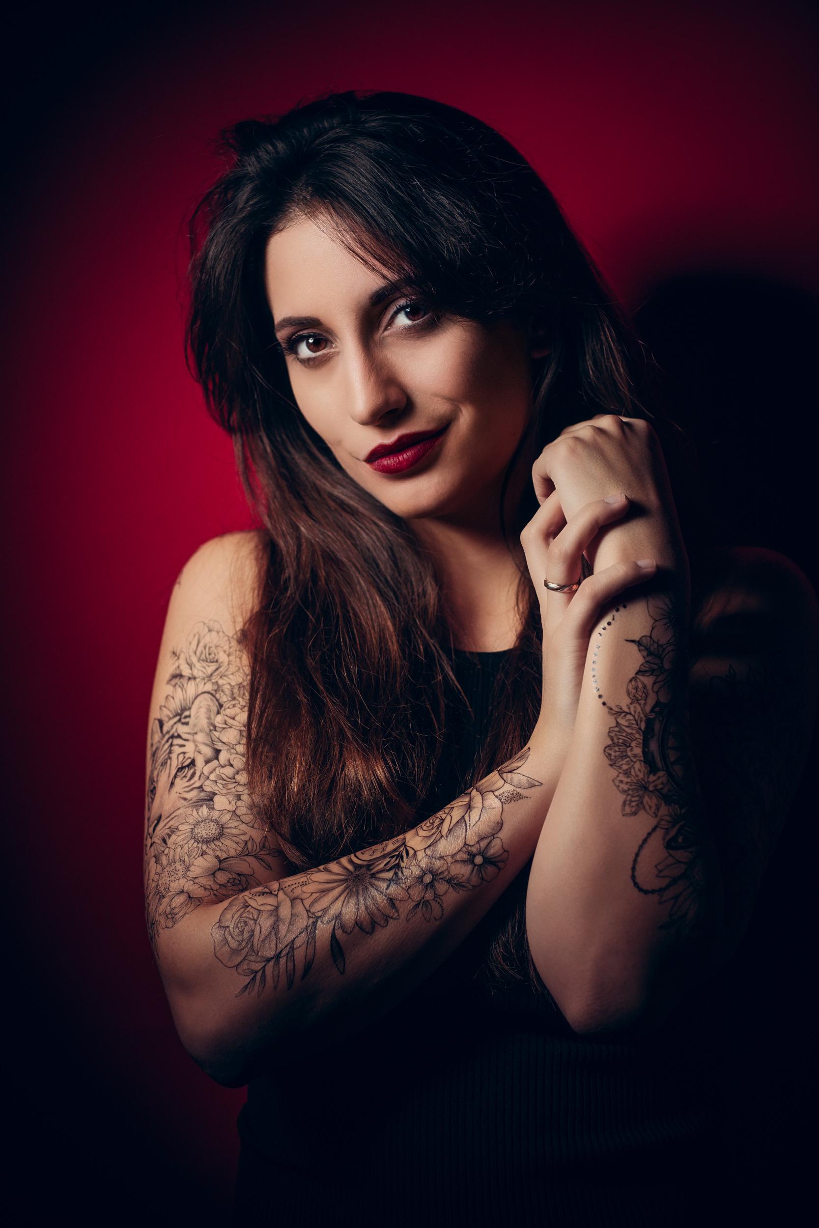 Nora studio photography