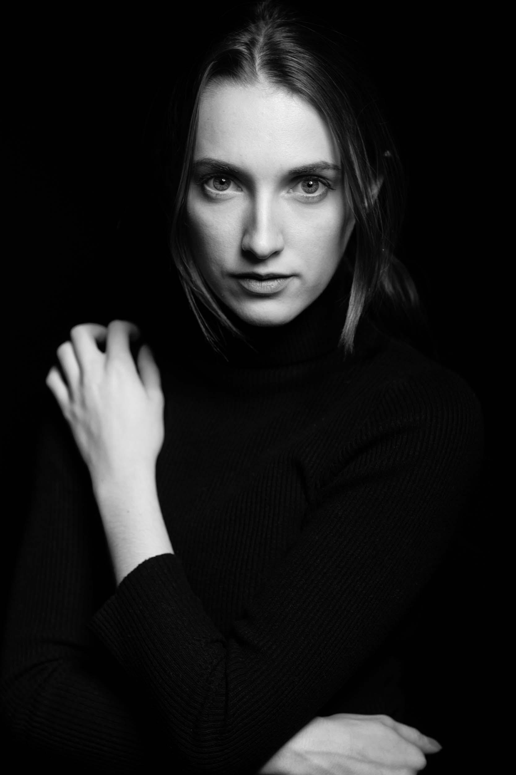 portraitfotografie fotograf filmemacher frankfurt patrick schmetzer portrait black white 1