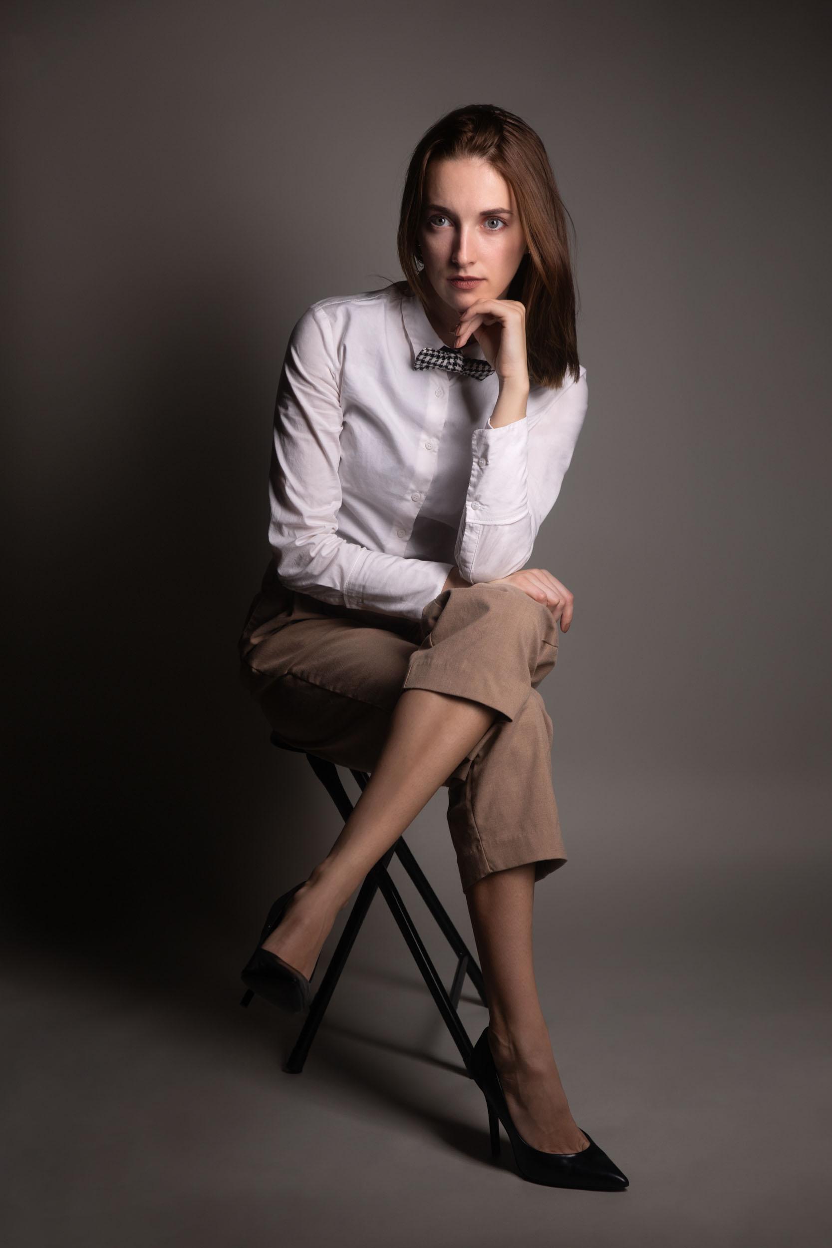 portraitfotografie fotograf filmemacher frankfurt patrick schmetzer portrait frau fashion 1