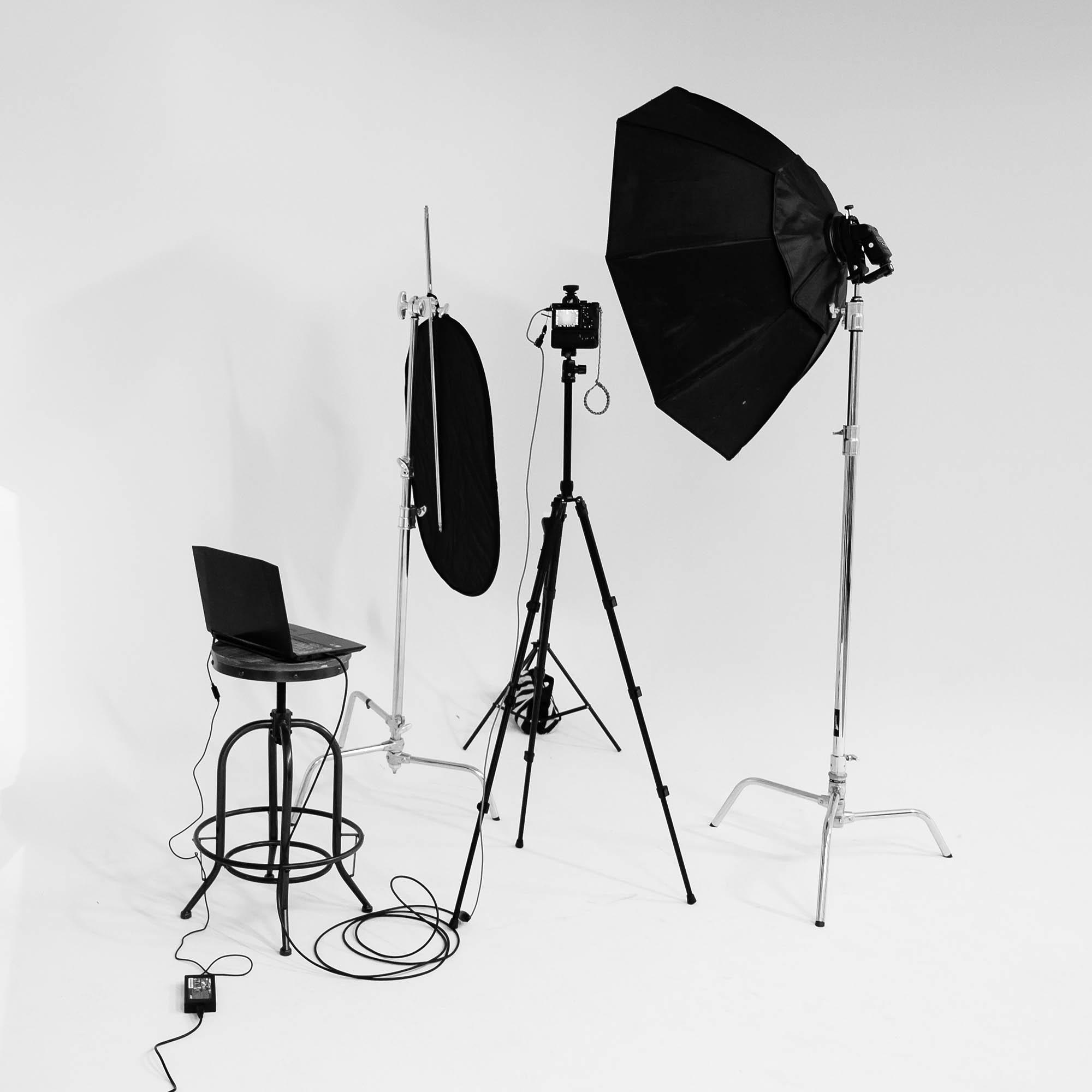 studio testen 02 Grundlagen Fotografie Das kommerzielle Fotoshooting von Anfang bis Ende