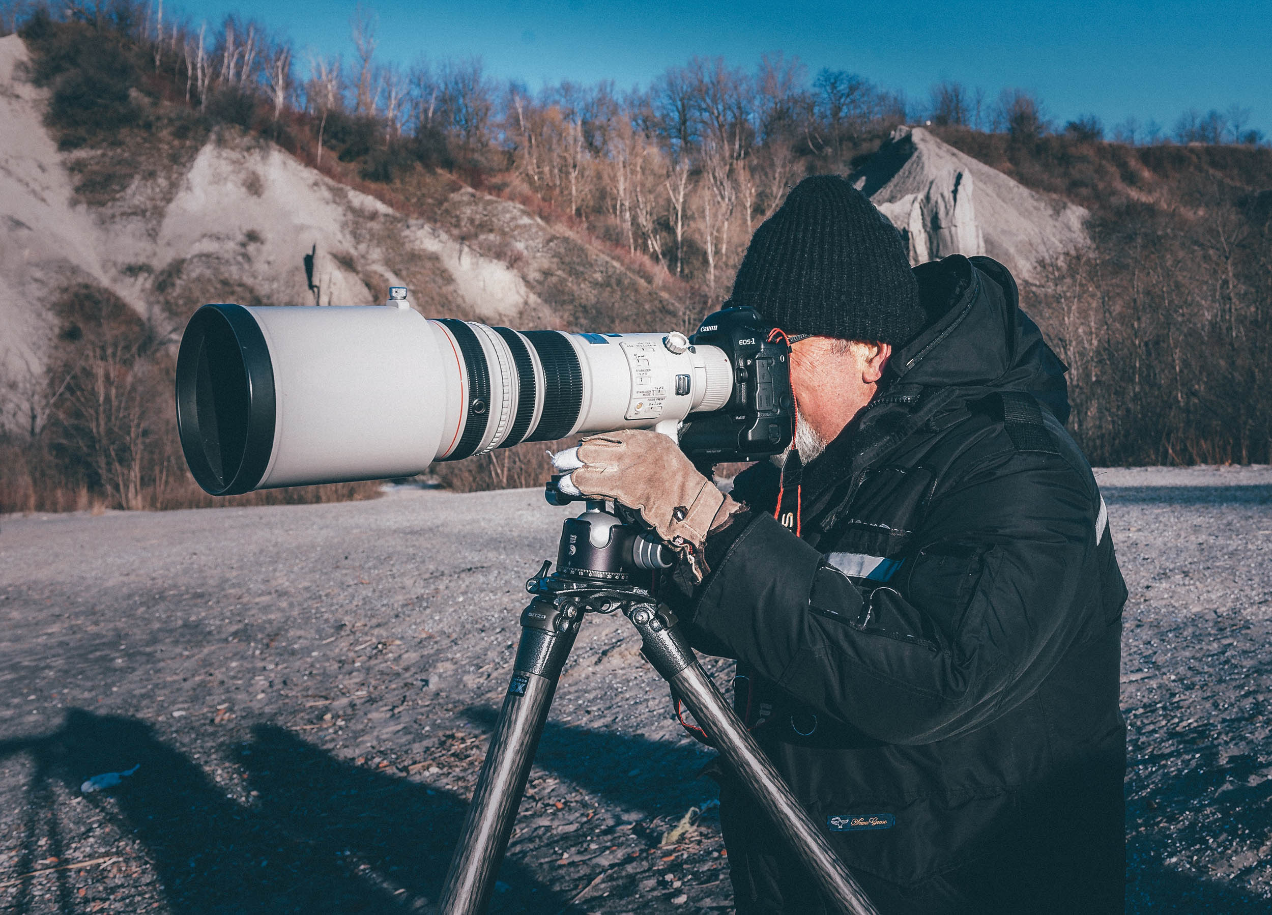 tripod telelense Basics of photography Photographing animals in the wild