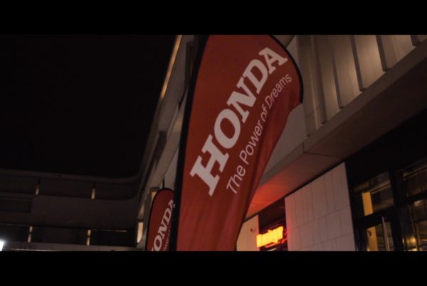 Honda Weihnachtsfeier Patrick Schmetzer Event Trailer