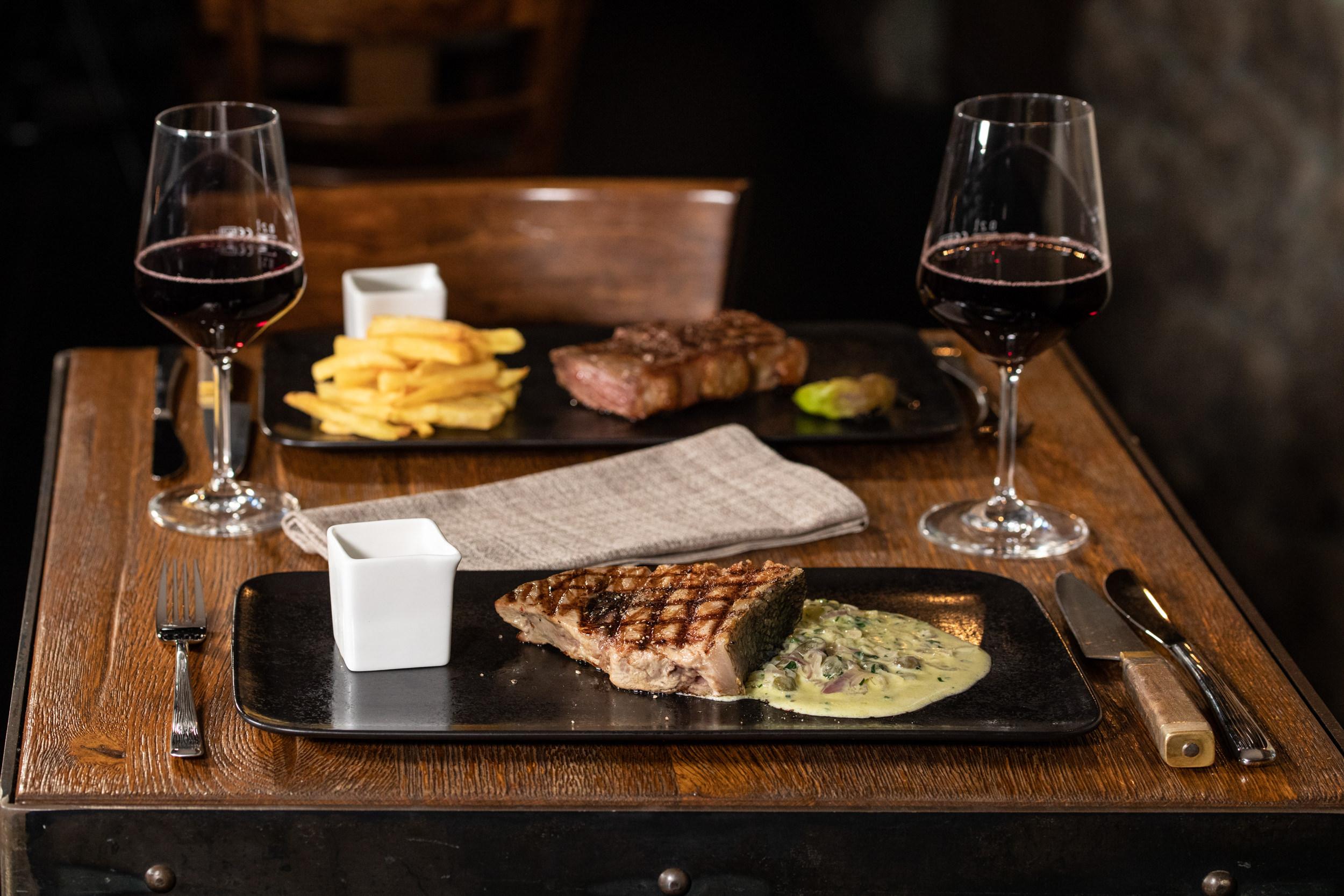 Steak Restaurant Frankfurt Photography Patrick Schmetzer 15