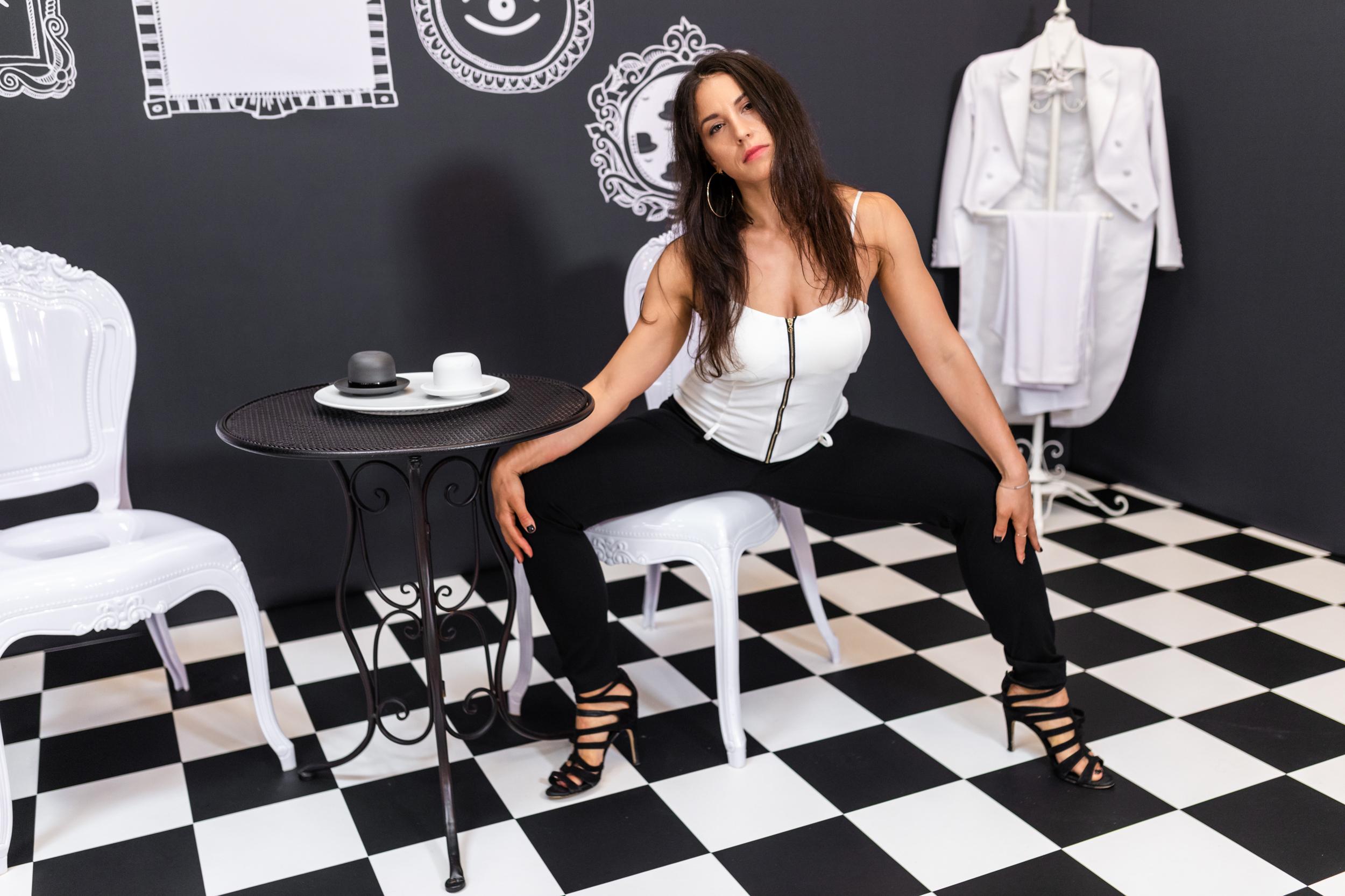 Black White Portfolio Konzept Art 3  Tee Zeit - Fotografie Konzept