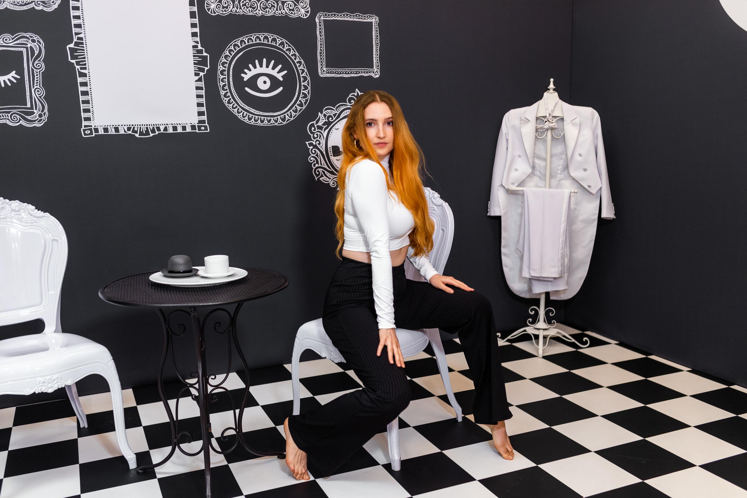 Black White Portfolio Konzept Art 6  Tee Zeit - Fotografie Konzept