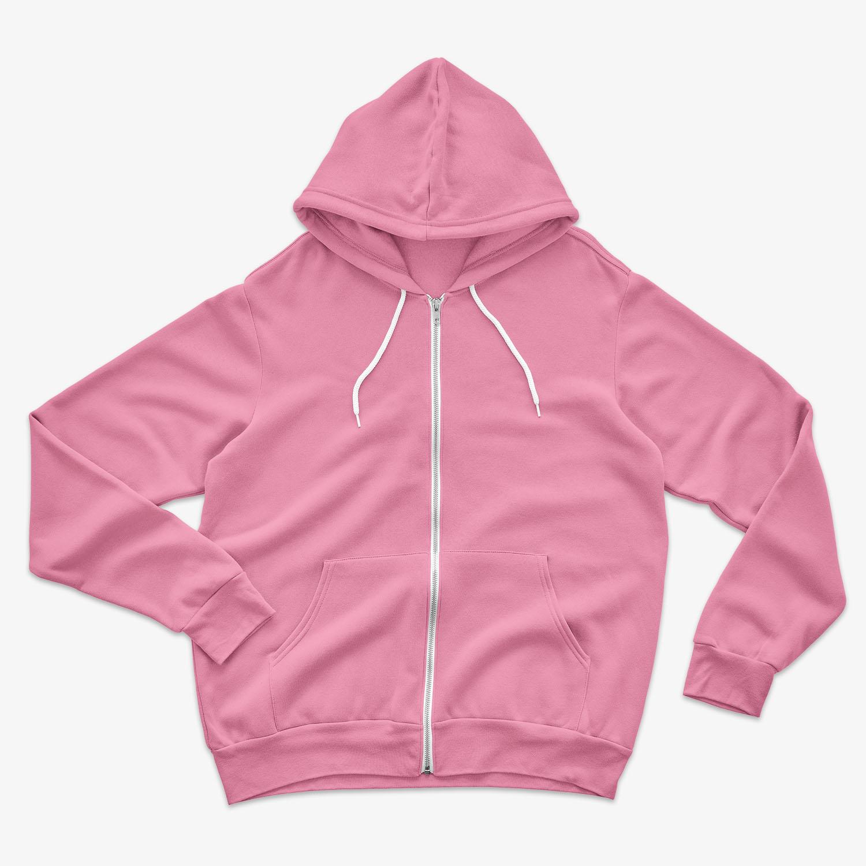 pink hoodie product