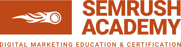 semrush academy logo large 1 social media certificates